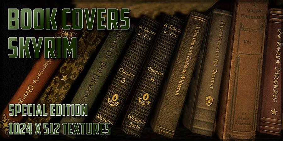 Book Cover Craft Mods : Book covers skyrim at special edition nexus mods