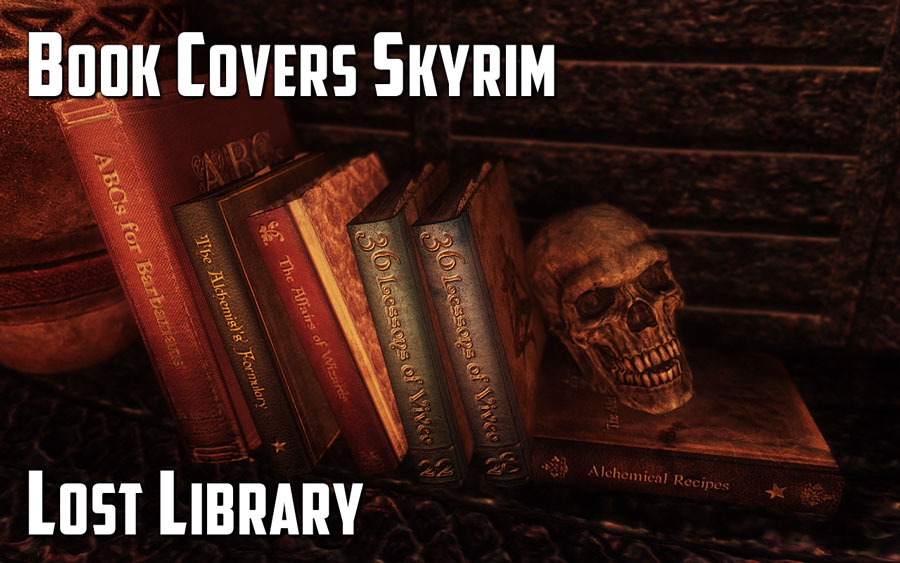 Book Covers Skyrim : Book covers skyrim lost library page s t e p