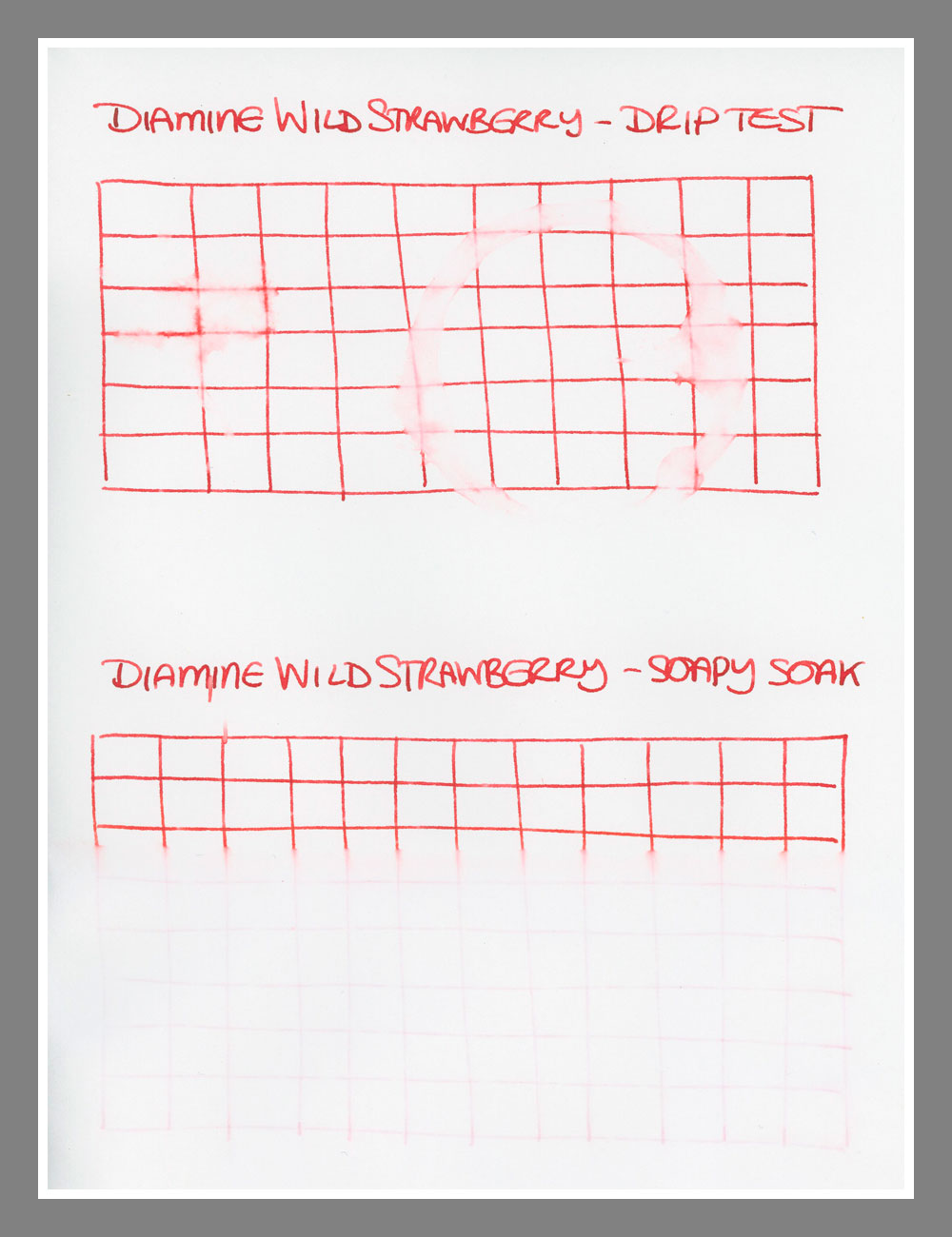 Diamine Wild Strawberry - Ink Reviews - The Fountain Pen Network