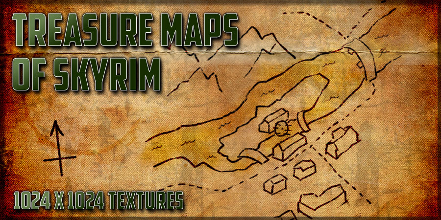 Treasure Maps of Skyrim at Skyrim Nexus - mods and community